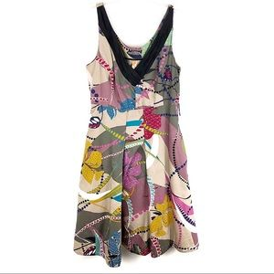 Anthropologie | Maeve Abstract Floral Dress